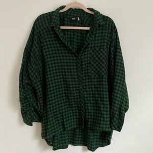Urban Outfitters oversized boyfriend flannel